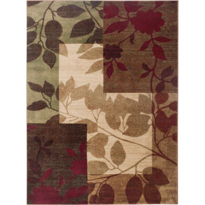 Home Dynamix Tribeca Amelia Floral Rectangular Rug