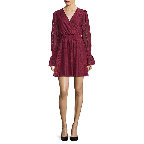 1c8d6cb5d0be Disney Princess Design Challenge Long Sleeve Fit   Flare Dress ...