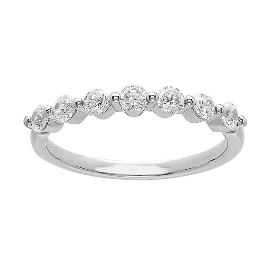 Grown With Love 1/2 CT. T.W. Lab Grown White Diamond 14K White Gold Wedding Band