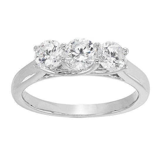 Grown With Love Womens 1 Ct T W Lab Grown White Diamond 14k