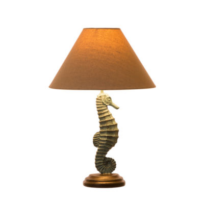 Seahorse Resin Table Lamp