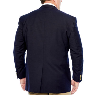 Stafford Hopsack Stretch Classic Fit Blazer Big and Tall