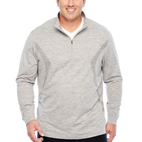 PGA TOUR Quarter-Zip Pullover - Big and Tall