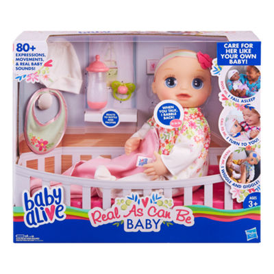 Baby Alive Real as Can Be Baby