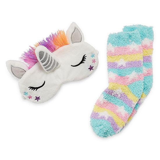 Unicorn Sleep Sock With Mask