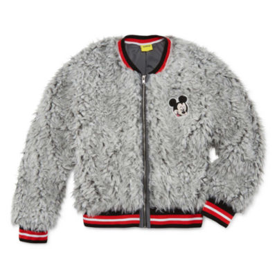 Disney Mickey Mouse Midweight Bomber Jacket - Girls