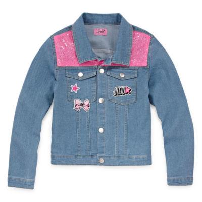 JoJo Siwa Girls Denim Jacket 4-6X