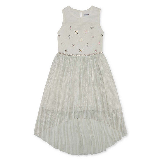 Knit Works Girls Embellished Sleeveless Maxi Dress - Big Kid