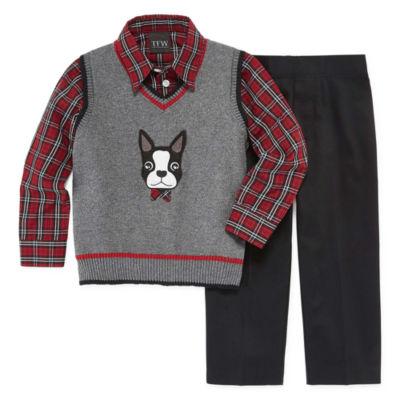TFW 3-pc. Suit Set Toddler Boys 2T-5T