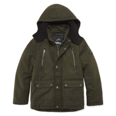 iXtreme Boys Hooded Heavyweight Parka-Big Kid