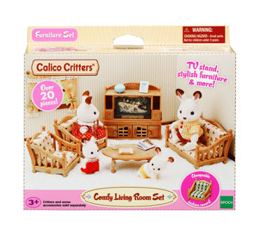 Calico Critters 40-pc. Toy Playset - Girls