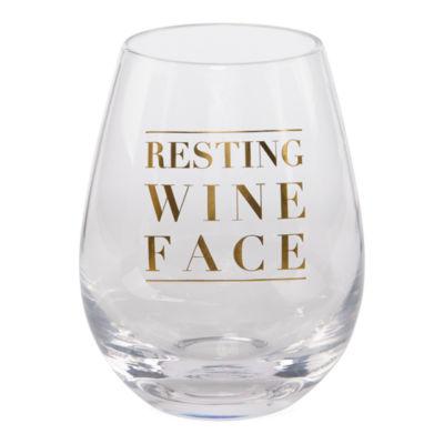 Mixit Girls Night Stemless Wine Glass