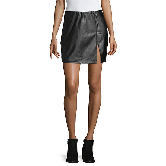 Society And Stitch Womens High Low Pencil Skirt-Juniors