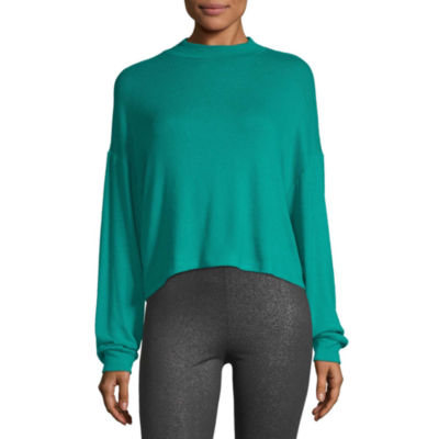 Flirtitude-Juniors Womens Long Sleeve Turtleneck