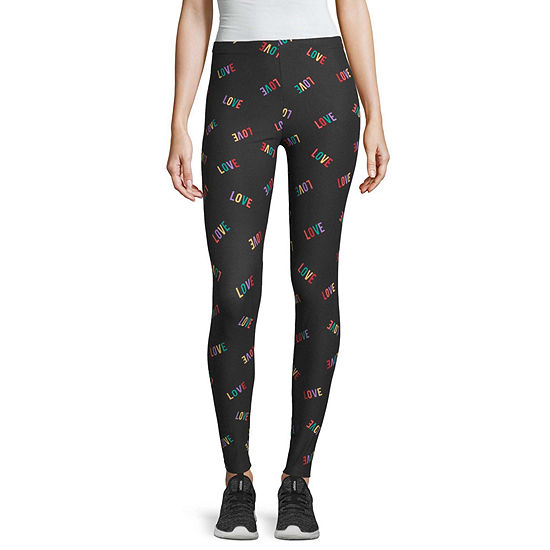 Flirtitude Juniors Womens Full Length Leggings