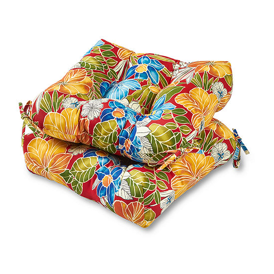 "Greendale Home Fashions 20"" Patio Seat Cushion - Set of 2"""