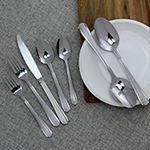 Studio Cuisine Satin Eastlyn 42-pc. Flatware Set