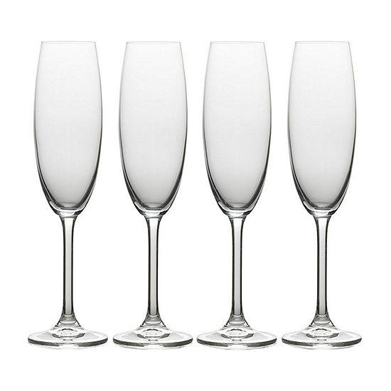 Mikasa Julie Flute 4-pc. Drinkware Set