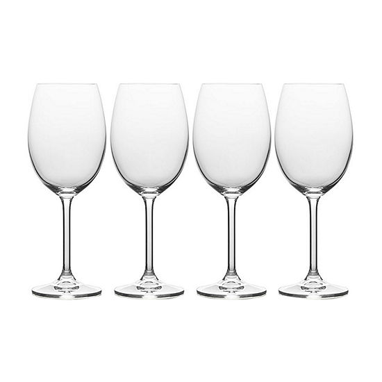 Mikasa Julie White Wine 4-pc. Wine Glass