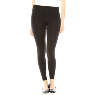 Mixit™ Fleece-Lined Cable Banded Leggings