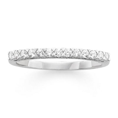 Modern Bride® Signature 1/4 CT. T.W. Certified Diamond 14K White Gold Wedding Band