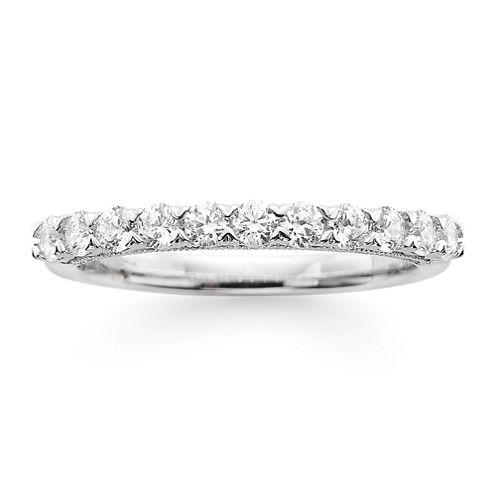Modern Bride® Signature 1/2 CT. T.W. Certified Diamond 14K White Gold Wedding Band