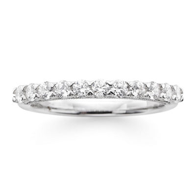 Modern Bride® Signature 1/2 CT. T.W. Certified Diamond 14K White Gold Wedding Band