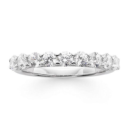 Modern Bride® Signature 1 CT. T.W. Certified Diamond 14K White Gold Wedding Band