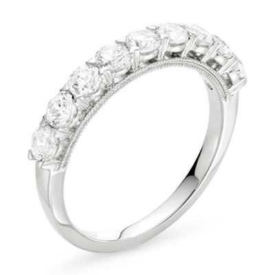 Modern Bride® Signature 1 CT. T.W. Certified Diamond 14K White Gold Wedding Band