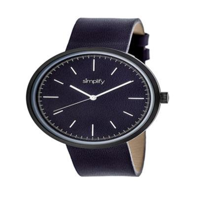 Simplify Unisex Purple Strap Watch-Sim3006