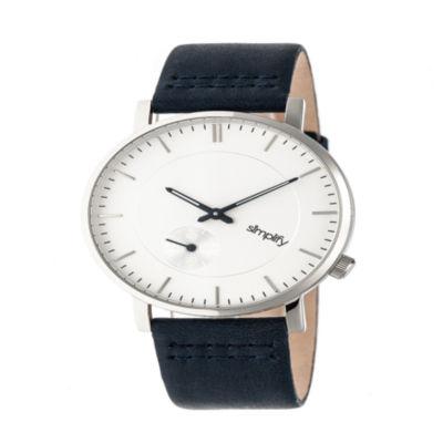 Simplify Unisex Blue Strap Watch-Sim3601