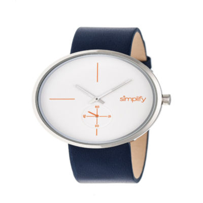 Simplify Unisex Blue Strap Watch-Sim4401