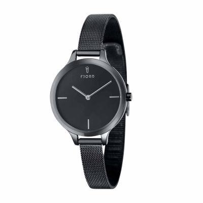 Fjord Womens Black Expansion Watch-Fj-6027-44
