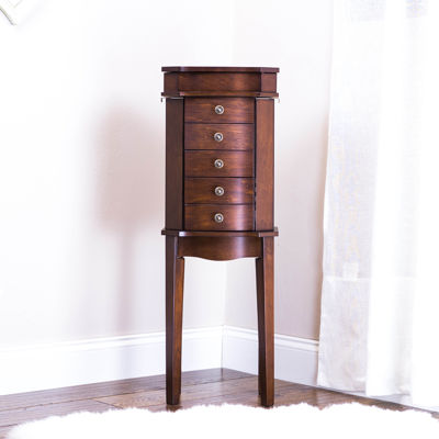 Hives & Honey Meg Walnut Jewelry Armoire