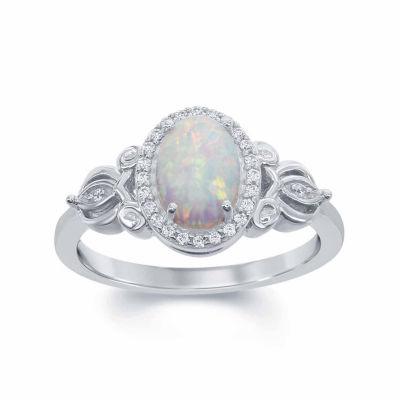 Enchanted disney fine jewelry 1 10 ct t w diamond lab for Disney fine jewelry rings
