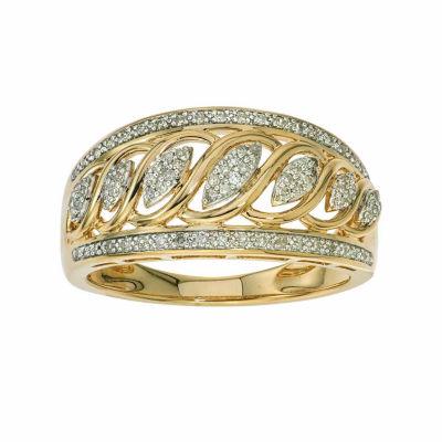 1/5 CT. T.W. Diamond 10K Yellow Gold Ring