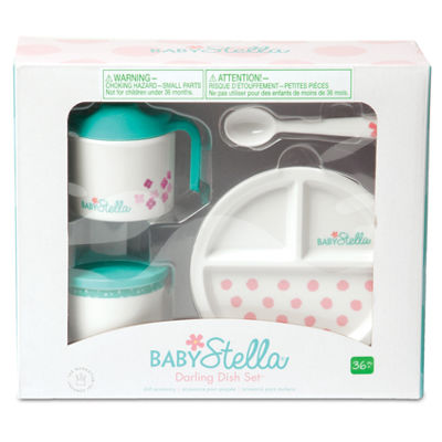 Manhattan Toy Baby Stella - Darling Dish Set DollAccessory