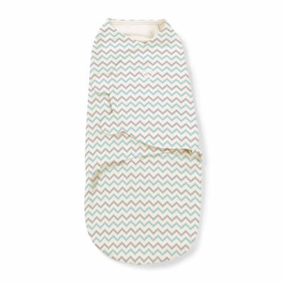 SwaddleMe Blanket - Teal Chevron