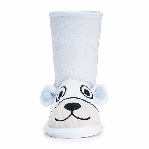 Zoo Babies Kids Polar Bear Boots - Toddler