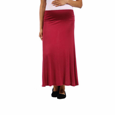 24/7 Comfort Apparel Womens Maxi Skirt - Plus Maternity