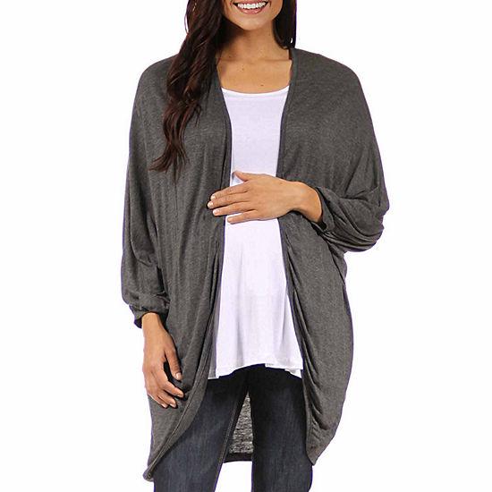 24 7 Comfort Apparel Womens Knit Blouse Maternity