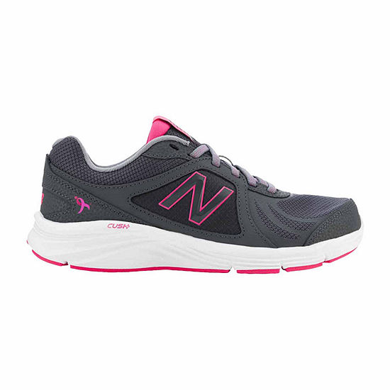 bb27b2b931a93 New Balance Womens Lace Up for the Cure 496 Walking Shoes JCPenney