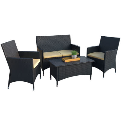 Corliving 4-pc. Conversation Set