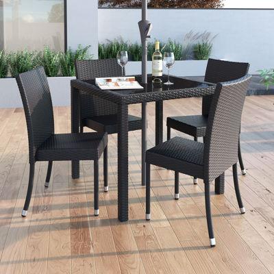 Corliving 4-pc. Conversational Chair