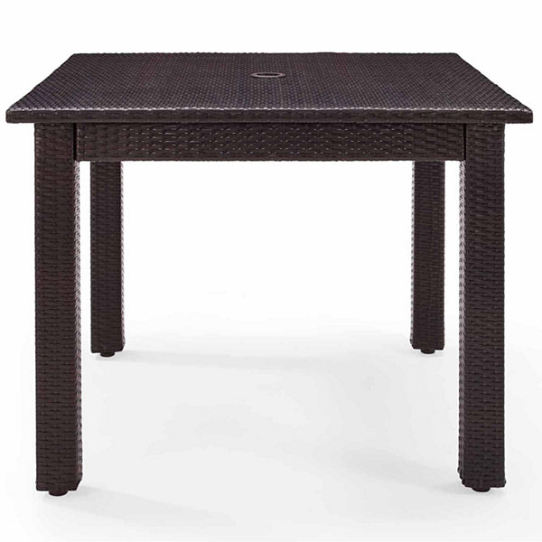 Crosley Palm Harbor Wicker Patio Dining Table