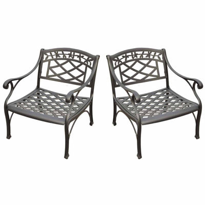 Crosley Sedona Cast Aluminum 2-pack Conversation Set
