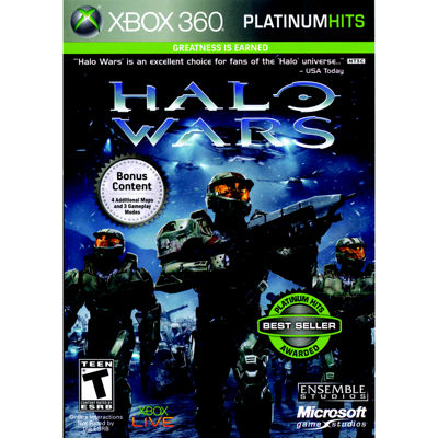 Halo Wars Video Game-XBox 360