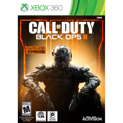 Call Of Duty Black Ops 3 Video Game-XBox 360