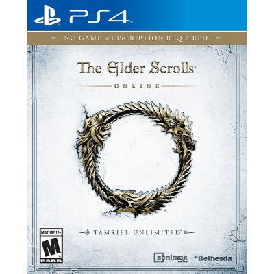 Elder Scrolls Online Video Game-Playstation 4