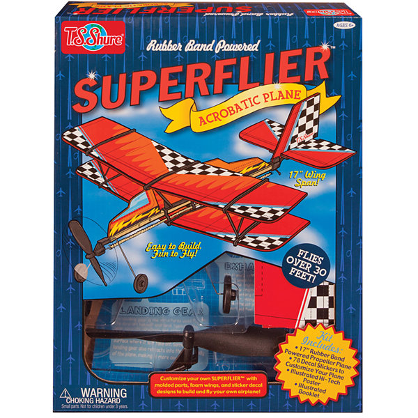 Super Flier Deluxe Acrobatic Plane Kit